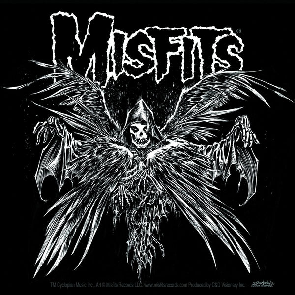 Misfits Descending Angel Sticker - Misfits Shop