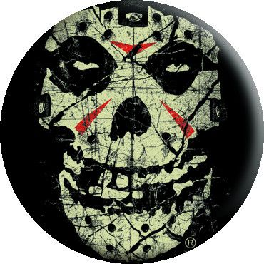 Misfits Crystal Lake Skull Button - Misfits Shop