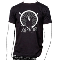Misfits for President T-Shirt - Misfits Shop - 1