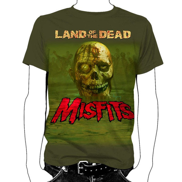 Land of the Dead T-Shirt - Misfits Shop - 1