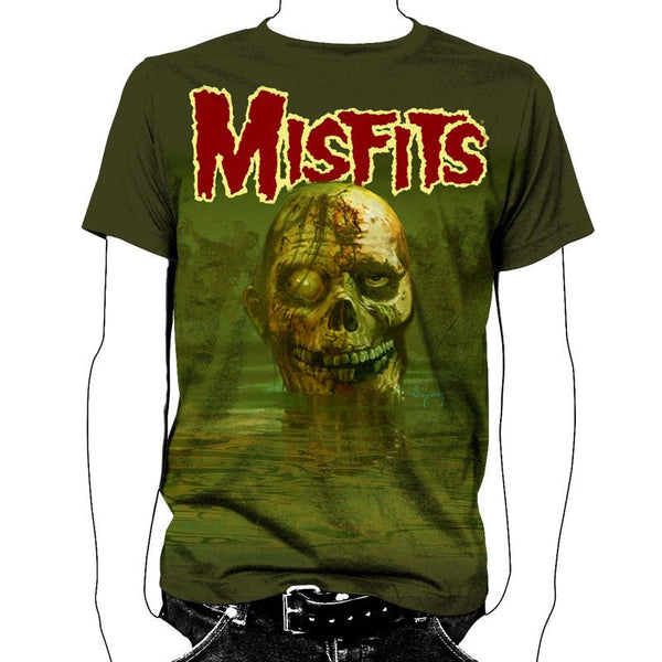 Land of the Dead All Over T-Shirt - Misfits Shop - 1