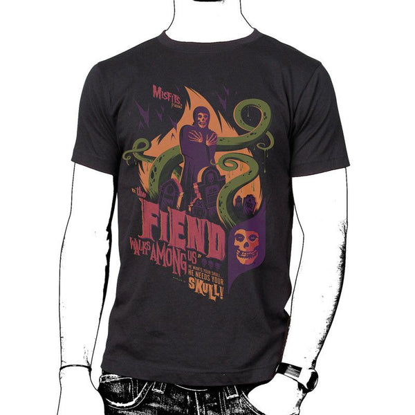 Fiend Walks Among Us T-Shirt - Misfits Shop - 1