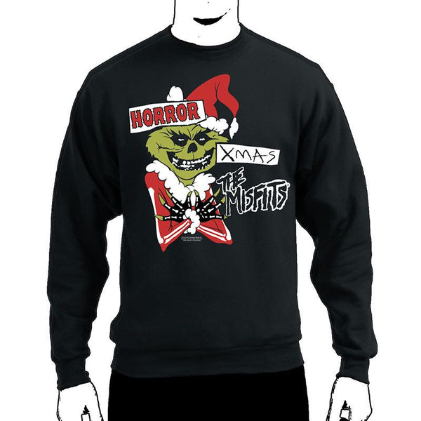 Horror Xmas Crewneck Sweatshirt - Misfits Shop - 1
