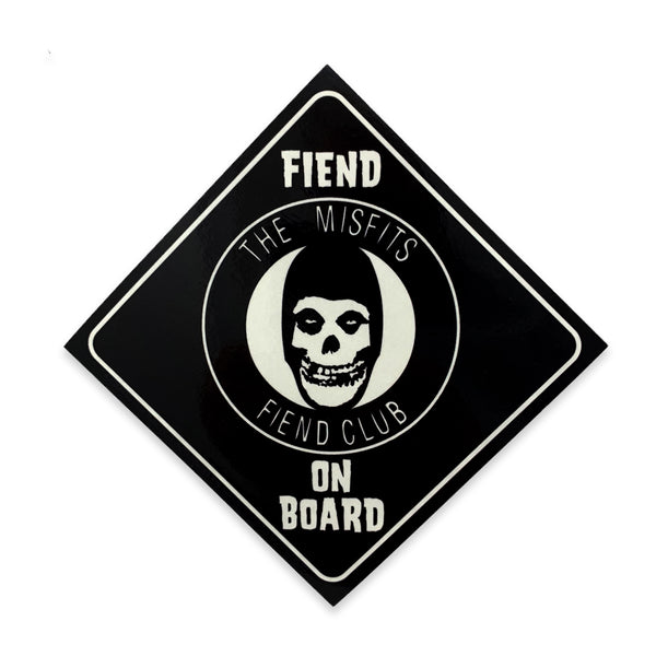 """Fiend On Board"" Sticker"