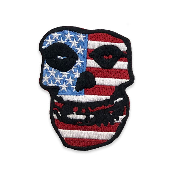 """USA Skull"" Patch"