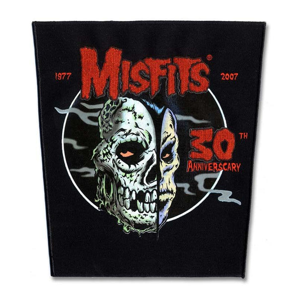 30th Anniverscary Back Patch - Misfits Shop - 1