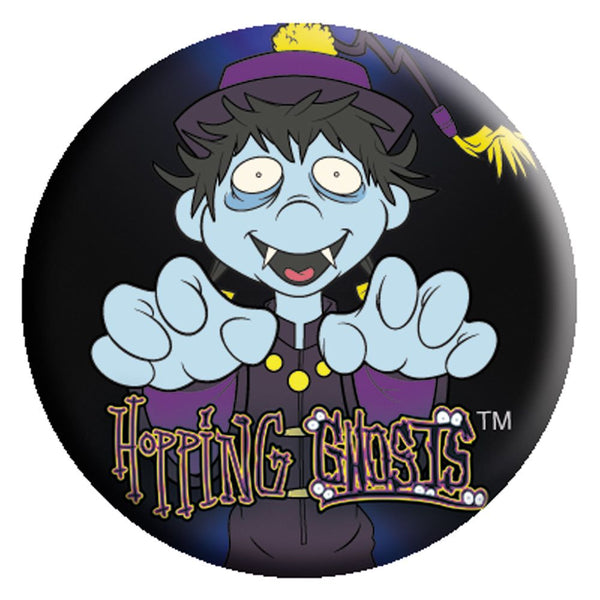 "Osaka Popstar ""Hopping Ghosts"" Button - Misfits Records"