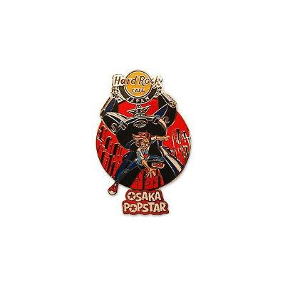 Robot Hard Rock Cafe Pin - Misfits Records