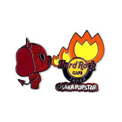 Devil Dog Hard Rock Cafe Pin - Misfits Records