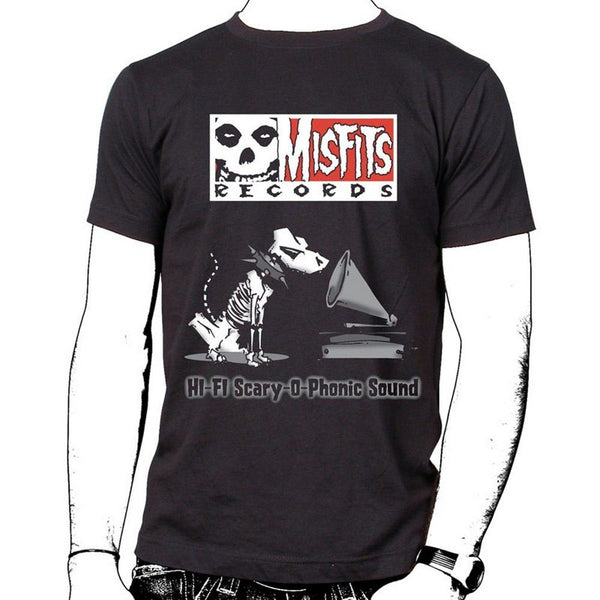Misfits Records Double Logo T-shirt - Misfits Records - 1