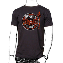 Wave Circle T-Shirt - Misfits Records - 1