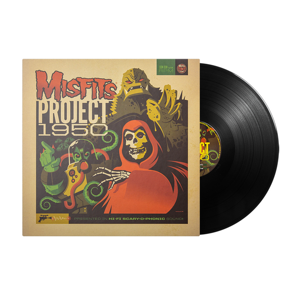 "Misfits ""Project 1950"" (Expanded Edition) LP - BLACK VINYL"