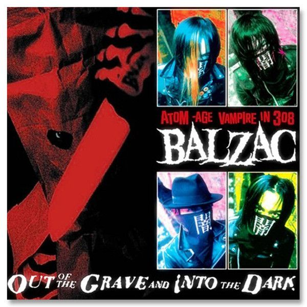 Balzac- Out of the Grave & Into the Dark CD - Misfits Records
