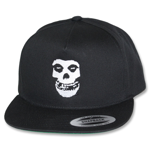 Misfits Black Embroidered Fiend Skull Ball Cap