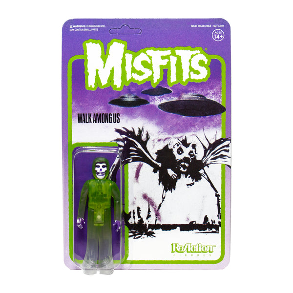 """Walk Among Us"" (GREEN) Misfits Fiend 3.75"" ReAction Figure"