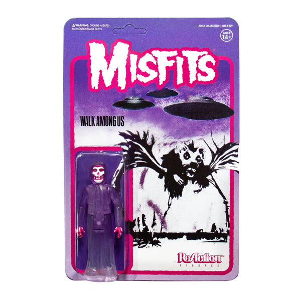 """Walk Among Us"" (PURPLE) Misfits Fiend 3.75"" ReAction Figure"