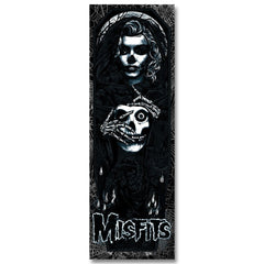 "'Unmasked' (Black Edition) by Rhys Cooper 12"" x 36"", 6-color screen-print poster (w/ glow in the dark & metallic inks) - Misfits Records - 2"