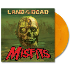 LAND OF THE DEAD: LTD ED YELLOW VINYL 12-INCH - Misfits Records - 1