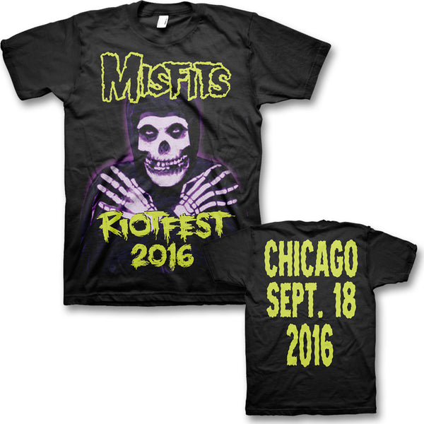 Official Hands: Original Misfits Reunion, Riot Fest Event T-shirt