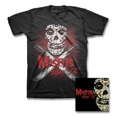 "MISFITS ""FRIDAY THE 13TH"" CD + T-shirt - Misfits Records - 1"