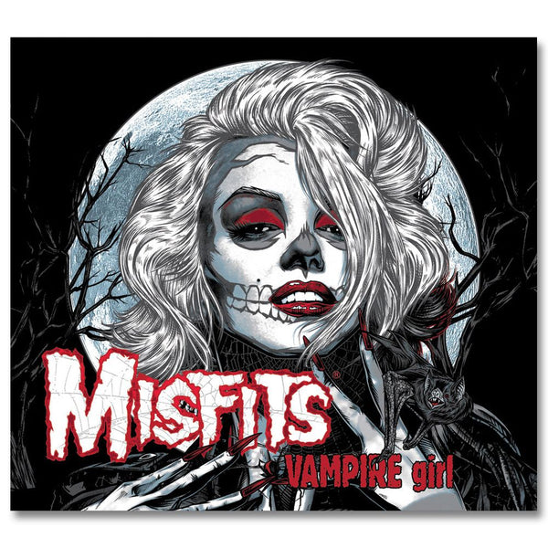Vampire Girl / Zombie Girl CD - Misfits Records - 1