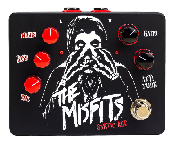 "MISFITS ""STATIC AGE"" ELECTRIC GUITAR PEDAL"