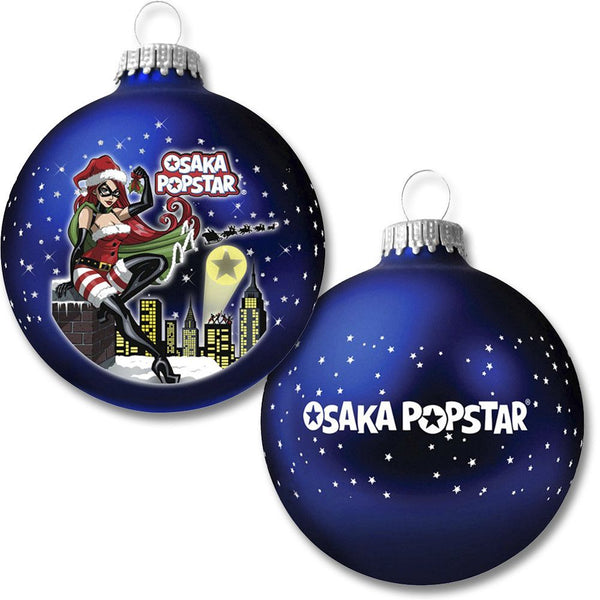 Osaka Popstar Ltd Ed Glass Ornament w/ DIGITAL SINGLE - Misfits Records