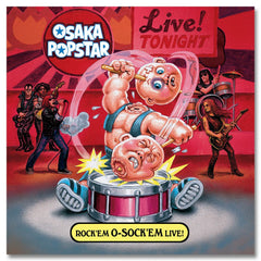 Rock 'em O-Sock 'em Live CD - Misfits Records - 1