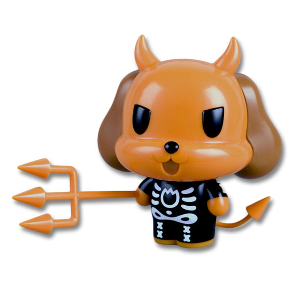 Limited Edition Skeleton Suit Devil Dog Vinyl Figure - Misfits Records - 1