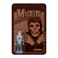 """Collection II"" (CLEAR VARIANT) Misfits Fiend 3.75"" ReAction Figure"