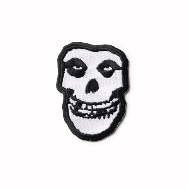 Misfits Fiend Skull Iron-On Patch