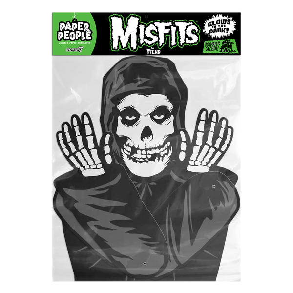 "MISFITS ""FIEND"" - PAPER PEOPLE DECORATION (Black)"