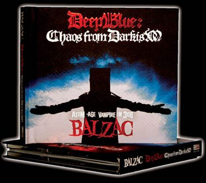 Deep Blue: Chaos from Darkism CD/DVD HARDCOVER EDITION - Misfits Records