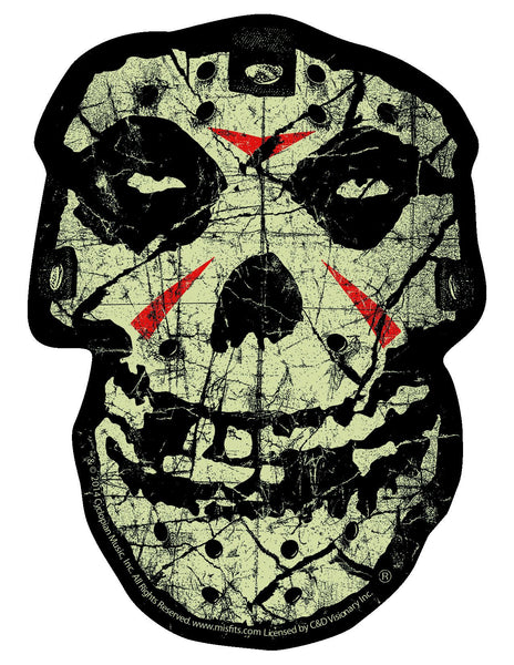 "Misfits ""Crystal Lake Skull"" Sticker - Misfits Records"