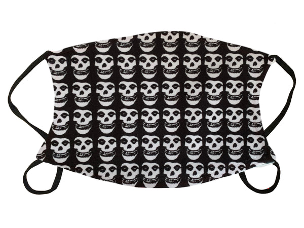 Multi Fiend Skull Print Face Mask