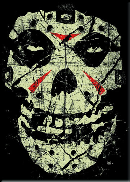 "Misfits ""Crystal Lake Skull"" Magnet - Misfits Records"