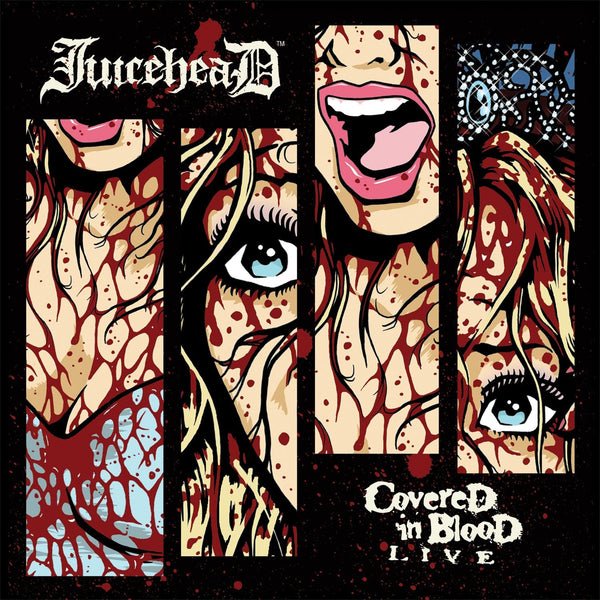 "JuiceheaD ""Covered In Blood"" Sticker - Misfits Records"