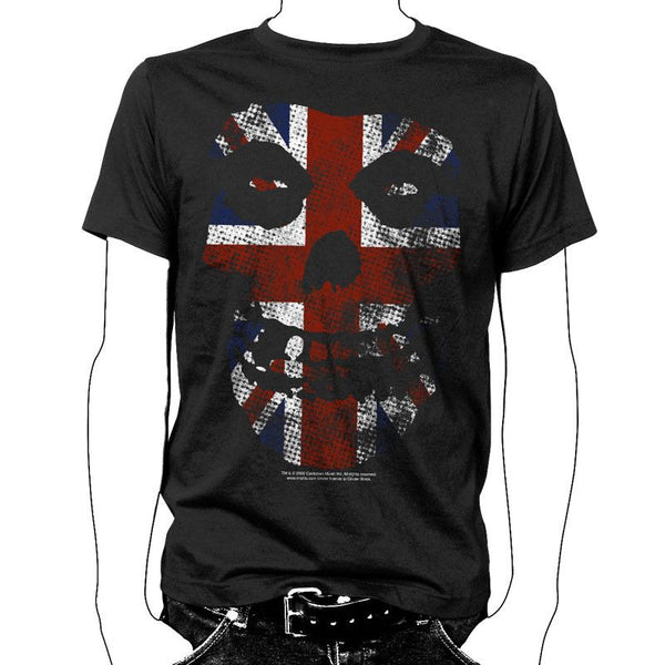 Union Jack Vintage T-Shirt - Misfits Records - 1