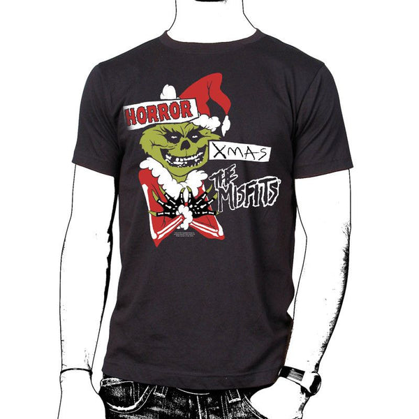 Horror Xmas T-Shirt - Misfits Records - 1