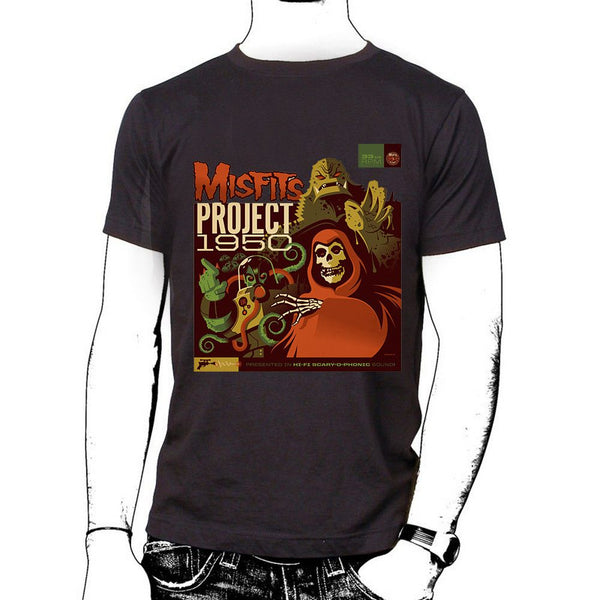Project 1950 Unisex T-shirt - Misfits Records - 1