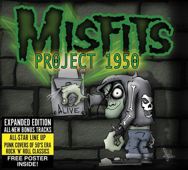 "Misfits ""Project 1950"" (Expanded Edition) CD - Misfits Records"