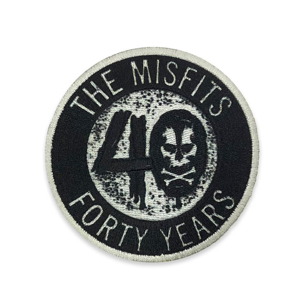"""40 Years"" Patch"