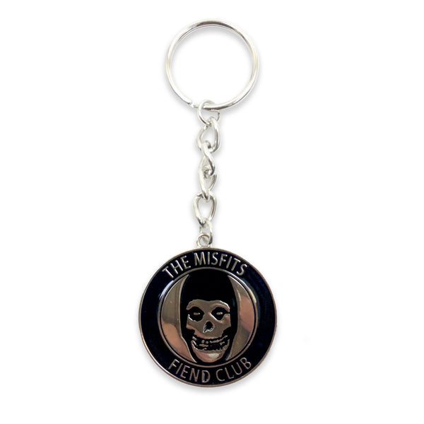 Fiend Club Enamel Filled Metal Keychain
