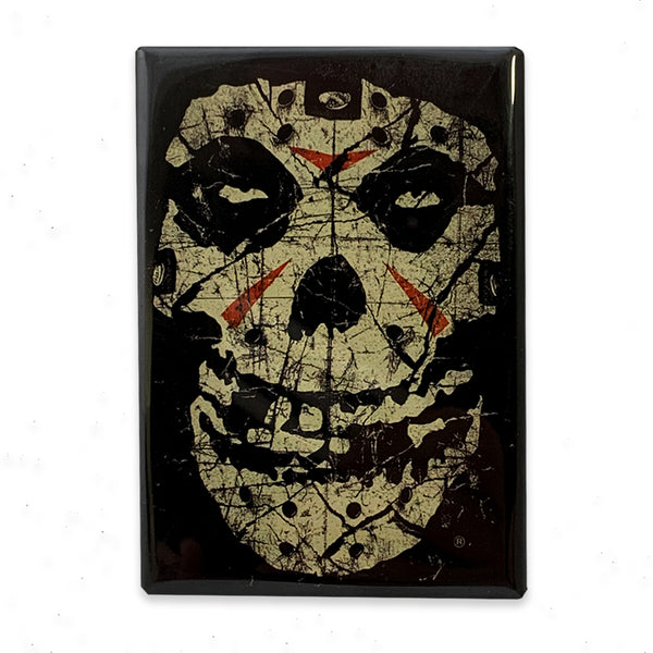 """Crystal Lake Skull"" Magnet"