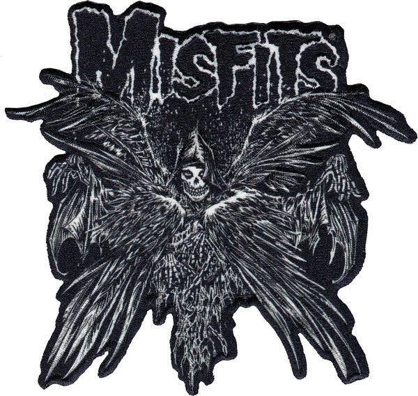 "Misfits ""Descending Angel"" Patch - Misfits Records"
