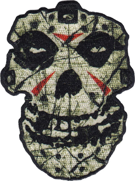 "Misfits ""Crystal Lake Skull"" Embroidered Patch - Misfits Records"
