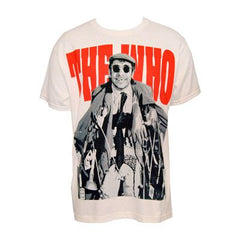 The Who Junkie Men's White Tee - The Who Official Online Store - 1