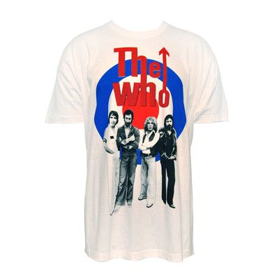 Target Band T-shirt - The Who Official Online Store - 1