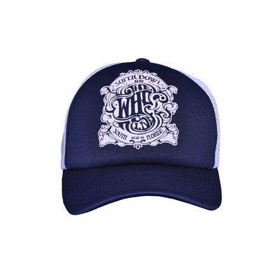 The Who Superbowl Show Blue Trucker Hat - The Who Official Online Store