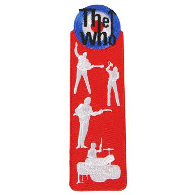 The Who Bookmark Patch - The Who Official Online Store